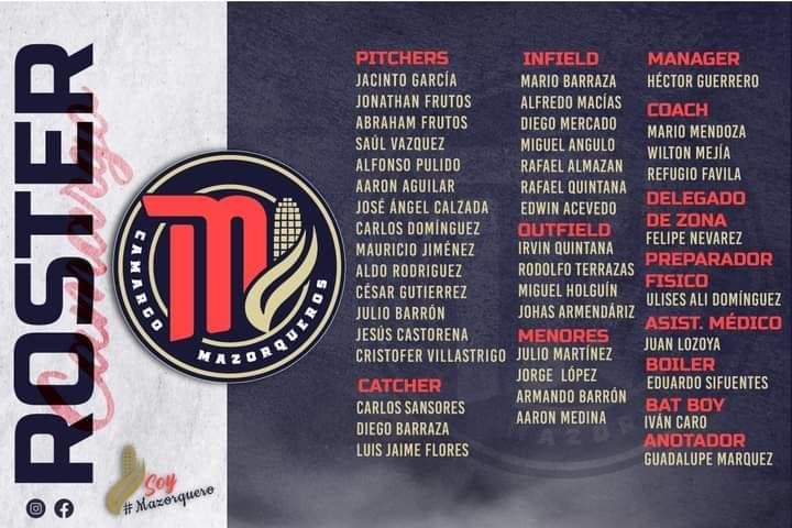 roster-temporada-2021-campeonato-estatal-besibol-chihuahua-mazorqueros-camargo-editado