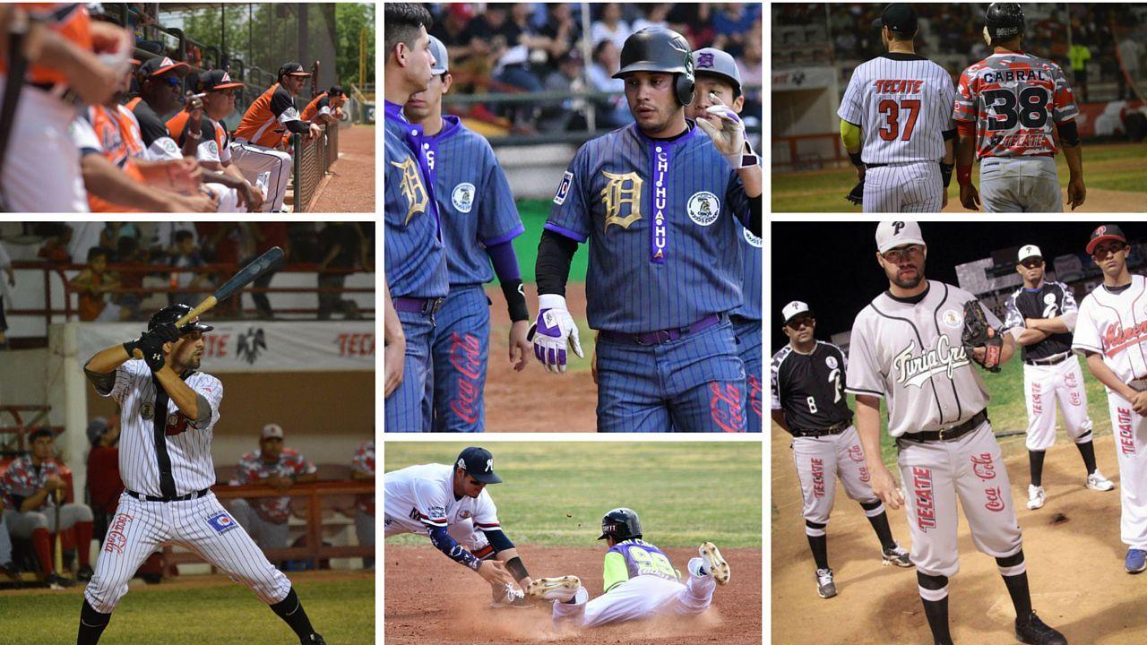 Portadas Estadisticas Beisbol Chihuahua 2016