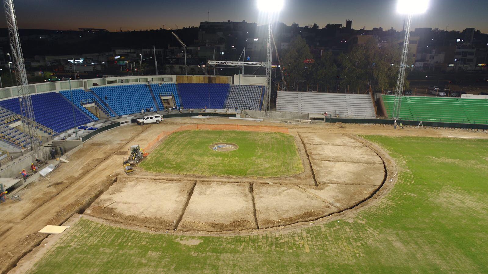 avance remodelacion estadio francisco villa generales durango campo2
