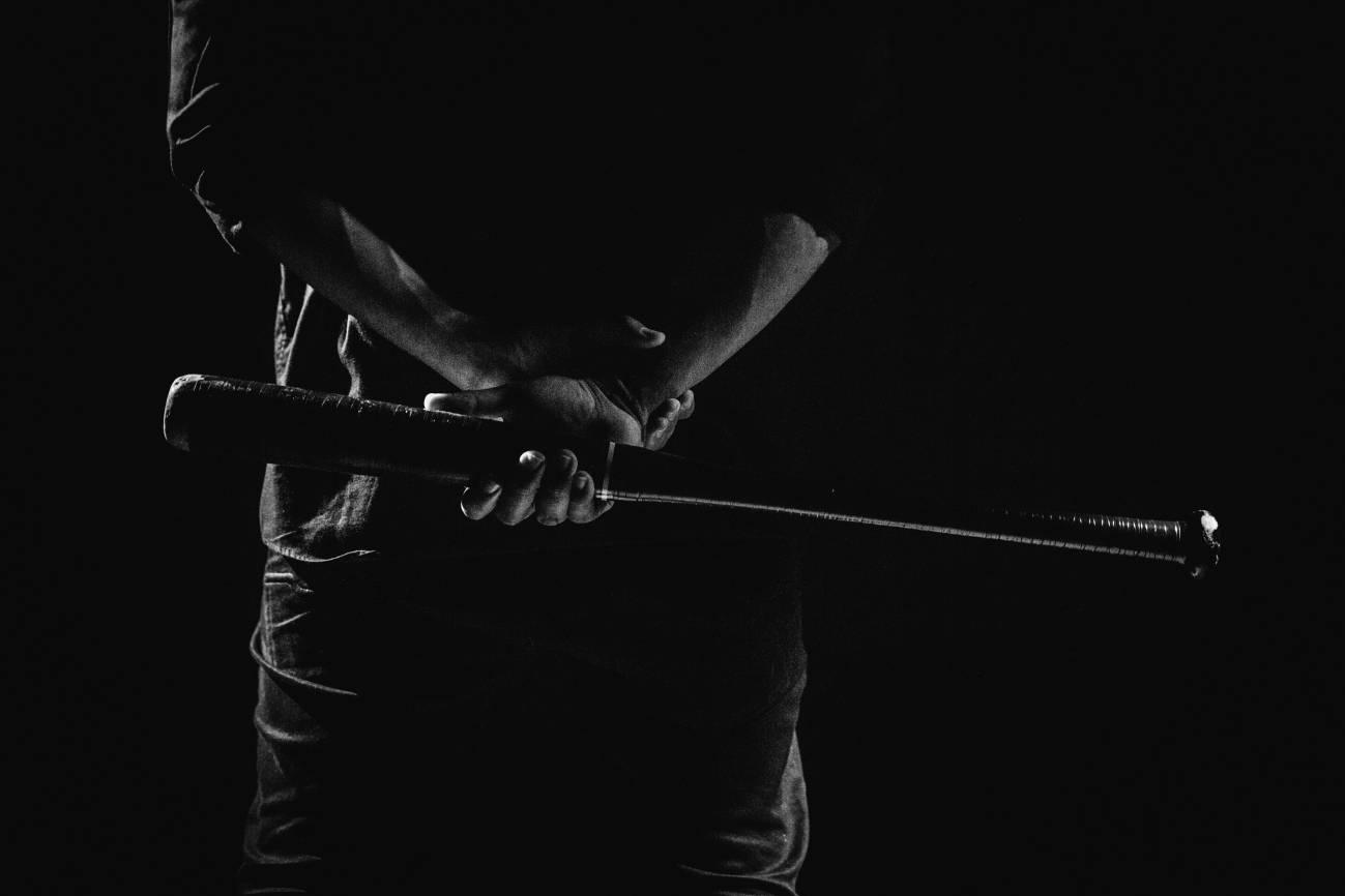 oscura bat pensativo beisbol chihuahua