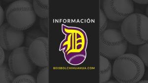 Preselección 2019 Dorados de Chihuahua
