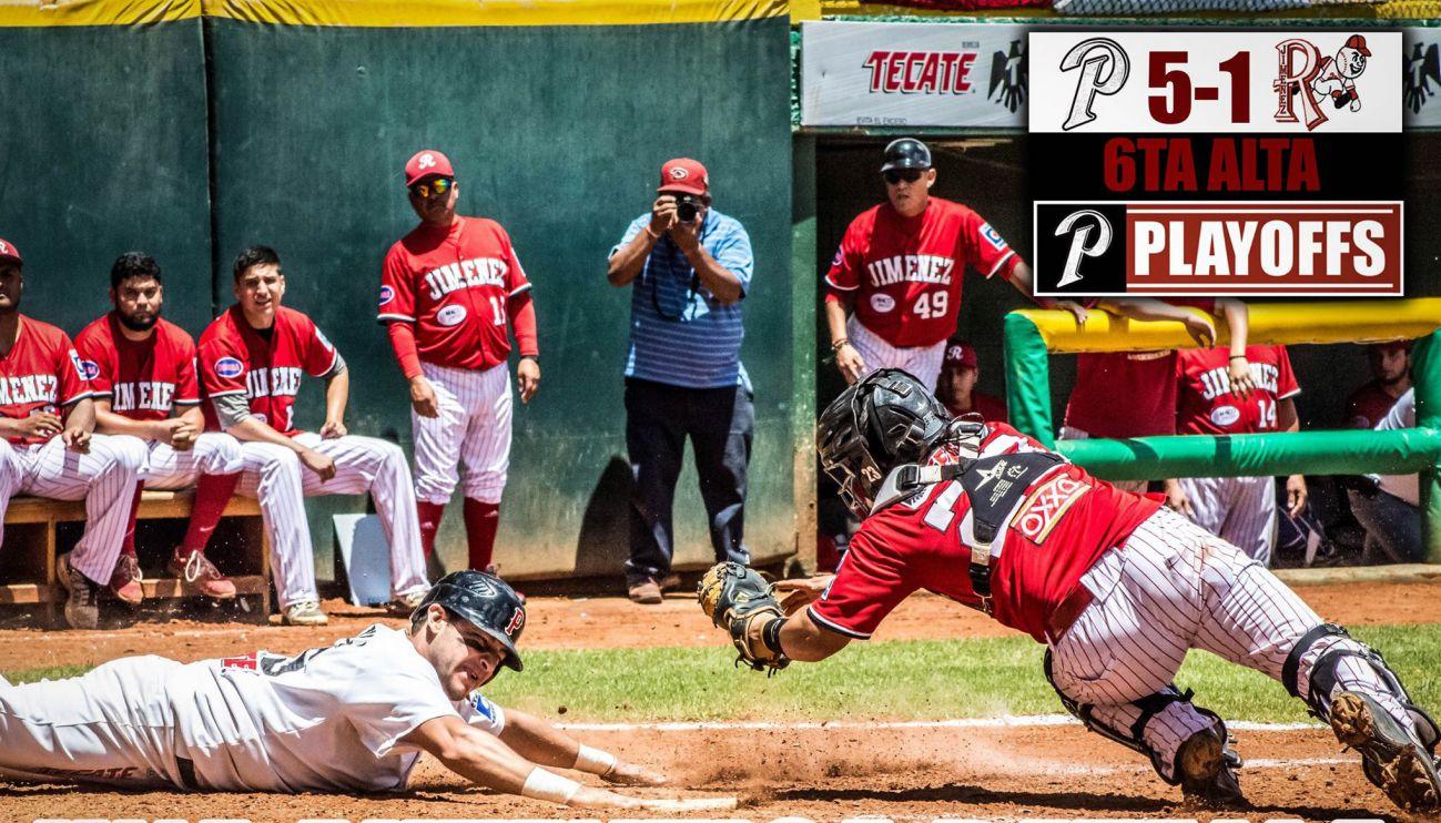 mineros contra rojos cuartos final beisbol chihuahua 2017 parral jimenez