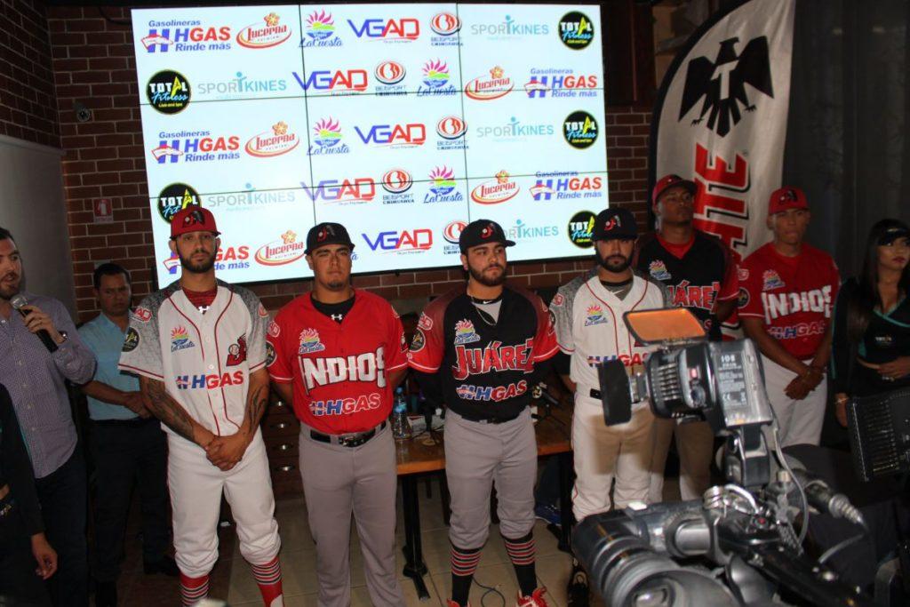 uniformes 2018 indios juarez beisbol chihuahua A