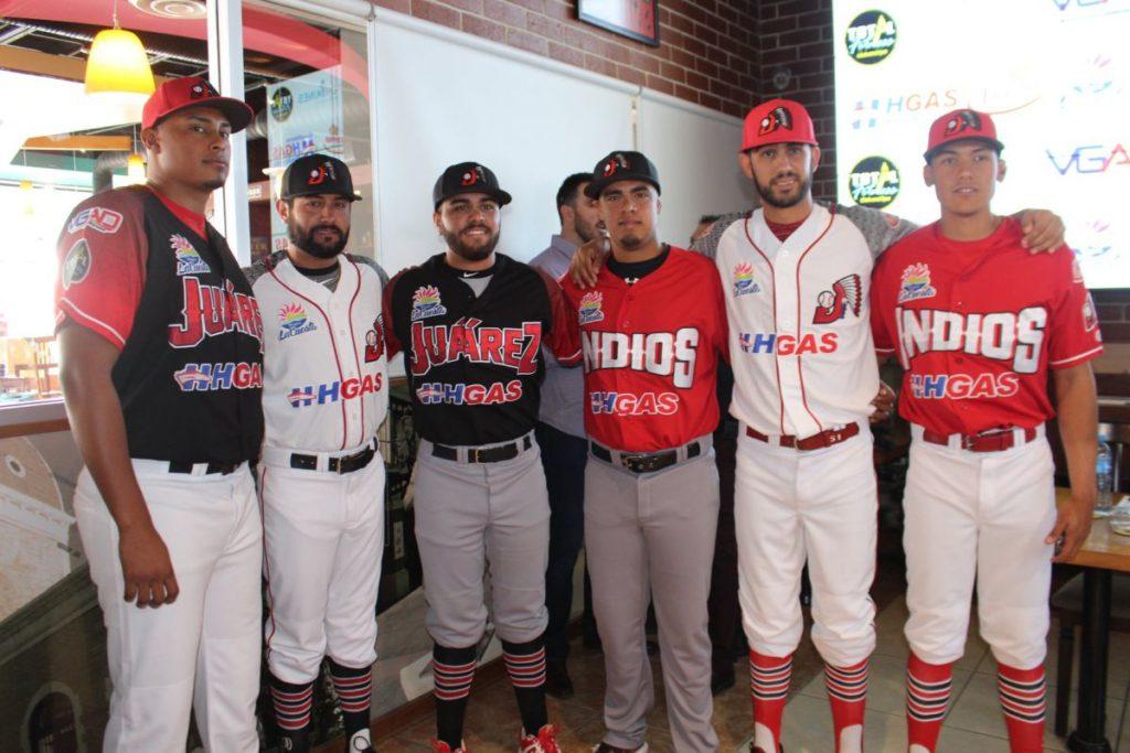 uniformes 2018 indios juarez beisbol chihuahua frente
