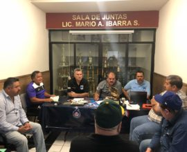 reunion directiva previa semifinales 2018 beisbol chihuahua