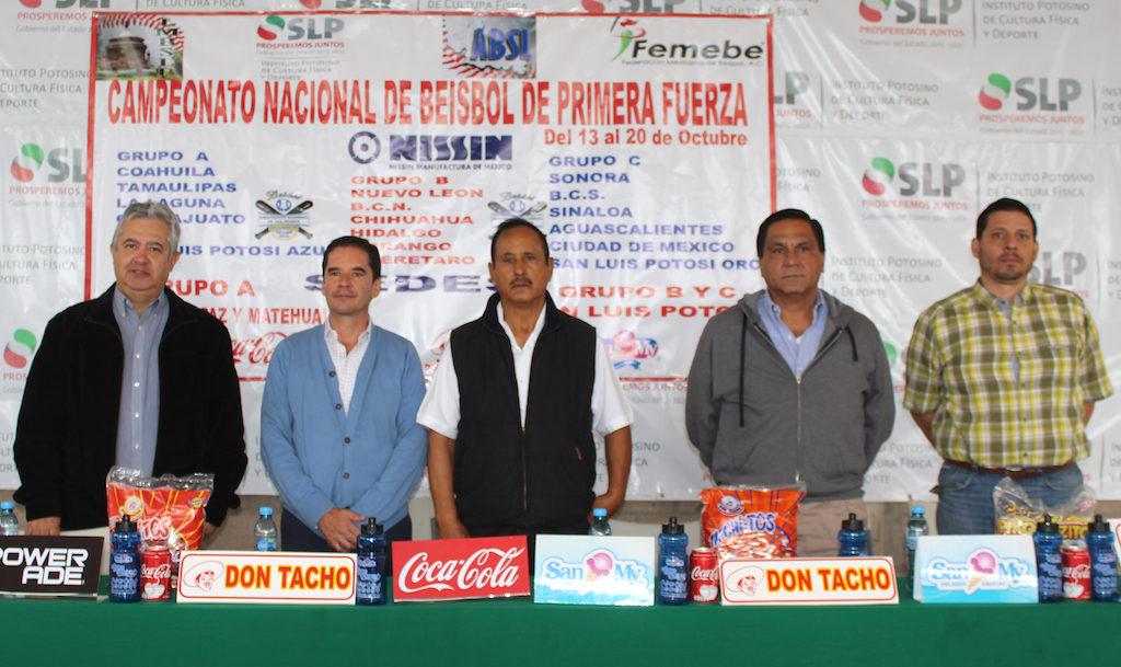 presentacion campeonato nacional beisbol primera fuerza 2018