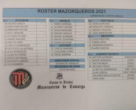 roster-temporada-2021-campeonato-estatal-besibol-chihuahua-mazorqueros-camargo