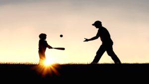 beisbol-sombra-padre-hijo