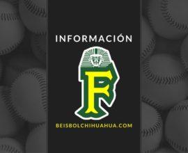 Informacion Nota Faraones Nuevo Casas Grandes beisbol chihuahua