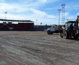 pasto sintetico estadio ojinaga beisbol chihuahua