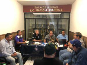 reunion directiva previa semifinales 2018 beisbol chihuahua
