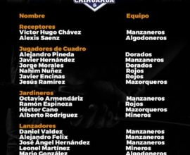 seleccion dorados chihuahua 2018 nacional beisbol primera fuerza